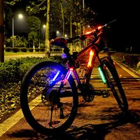 Wholesale Silicone bicycle accessories tail lights Mountain bike safety warning lights and accessories Bike light LED lights in colors free ship