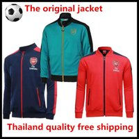 arsenal prints - Latest best Arsenal sapphire sportswear shirts football training suit and red shirt long sleeve jacket