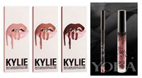 Wholesale Kylie Lip Kit by Kylie jenner Lip gloss non stick cup labial line pen suits