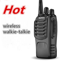 Wholesale New wireless walkie talkie handheld waterproof walkie talkie BF S professional wireless walkie talkie civilian walkie talkie