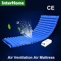 alternating pressure - Hospital Medical Pneumatic Alternating Pressure Air Mattress Cushion Sleep Function Pump Prevent Bedsores Decubitus With Air Ventilation