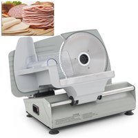 Wholesale 7 quot Electric Deli Meat Vegetable Slicer Home Kitchen Restaurant Stainless Steel