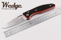 axis lock black blade - WEDGE Shirogorov F95 Bear Head Brushed Axis Lock Blade Red Black G10 Handle OEM EDC Jackknife Folding Pocket Knife Outdoor Gear knives