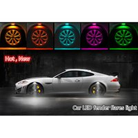 Wholesale New LED Green Light Underbody Glow Interior Under Car Auto Decoration Lamp V V Car Styling