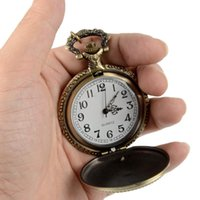 Wholesale Retro Bronze Vine Quartz Pocket Watch C00001 SMAD