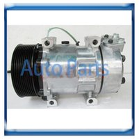 Wholesale 8295 Sanden H15 ac compressor for Scania Trucks