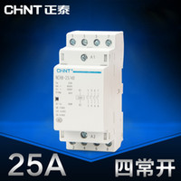 Wholesale Chint Mini household AC Contactor V Din Rail Type NCH8 NO P A