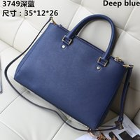 big brown leather handbags - High Quality Leather Women Bags Luxury Famous Brands Designer Handbags Ladies Big Shoulder Bags Classic Shopping Wedding Party TRD