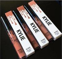 Wholesale Kylie Lip Kit by kylie jenner Velvetine Liquid Matte Lipstick Lip Gloss color lip gloss High quality DHL Free