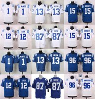 andre johnson jerseys - 2016 NEW football jerseys Andrew Luck Andre Johnson Coby Fleener Elite Frank Gore Football jerseys Embroidery Logo Mix Order
