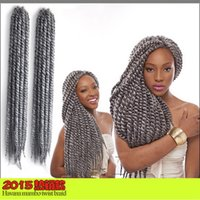 Wholesale Europe and the United States sell like hot cakes and MAMBO African big TWIST braid dirty braid