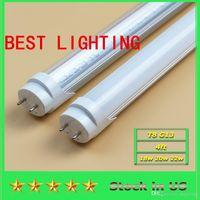 best energy stocks - BEST LED TIGHT FT T8 Led Tube Super Bright W W W Warm Cold White Led Fluorescent Bulbs AC110 V Led Tubes Lights lighting US STOCK