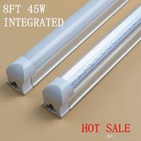 ac rates - FIRST RATE PRODUCT ft W T8 Led Lights Tubes Integrated mm Led Fluorescent Light AC V Factory direct hotsale STOCK IN US