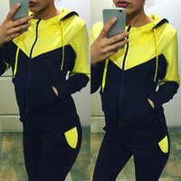 baseballs outs - 2016 BTS Women Piece Set Hit color Sportwear Tracksuit Female Hoodies Sweatshirt Hollow Out Pants Girls Jogging Sportsuit Tracksuit