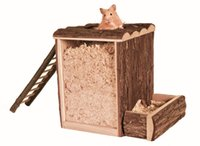 Wholesale Natural Wood Digging Tower For Hamsters X9X8 quot