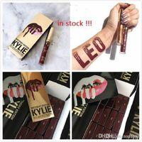 Wholesale 48PCS in Stock Kylie Jenner LIP KIT LEO Birthday Edition Matte Lipstick Liner IKylie Jenner Cosmetics Leo Lip Kit Birthday Edition