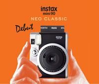 Wholesale 2016 newest instax camera the instax mini instant camera the fashionable mini90 neo classical camera