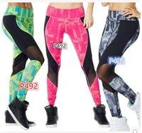 achat en gros de vêtements de danse de yoga-Vêtements de danse femmes Yoga fitness sports Camouflage tricoté Yoga Pantalons Yoga Fitness Pantalons