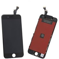 Wholesale LCD for iPhone plus inch lcd display touch screen complete with digitizer replacements assembly white black