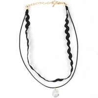 african fashion trends - 2016 Fashion New Women Choker Necklace Lace Necklace Delicate Fragrance Bottlenecks Chain Trend Contracted Pendant Necklace