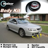 Wholesale Bumper Lip Lips For Holden Calais Front Skirt Deflector Spoiler For Car Tuning The Stig Recommend Body Kit Strip