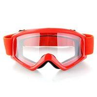 anti helmet - Red Motocross Motorcycle Bike Helmet Anti Wind Eye Protection Glasses Goggle