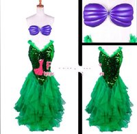 ariel cosplay - The Little Mermaid Ariel Skirt Princess Dress Cosplay Costume Tailor made