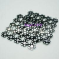 Wholesale High Power w w w Watt LED Heat Sink Aluminum Base Plate mm LED board KIT DIY high quality star heatsink