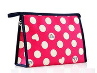 bags manufacture - MB Professional Polyester Manufactures Cosmetic Makeup Bag For Ladies audit lady dot make up pouch cute women makeup bag