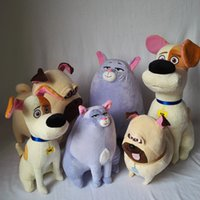 Wholesale Mel Pets The Secret Life of Pets Movie Duke Short Plush Toys Brown Plush Dog Toy cat toys CM CM