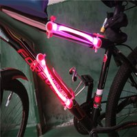 bicycle wheel manufacturers - LED light manufacturers selling bicycle riding safety warning light outdoor sports equipment emitting light bar customization