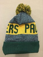 Wholesale New fashion green Beanies For Men women bay snapback Hat Cool Packers popular Knit cap Sport Skullies Winter football beanie