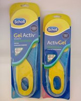Wholesale solette activ silicona active silicone gel insoles running for shoes men women sports basketball almofadas foot insoles sholl shoe pad