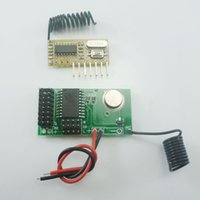Wholesale SC2262 Transmitter ASK RF Wireless Control Arduino Receiver channels MHz