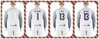 barcelona white jersey - Soccer Jersey Barcelona TER STEGEN C BRAVO Cillesse Goalkeeper Long Sleeve Uniforms Kit White Jerseys