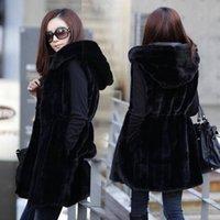 Wholesale Cheap and retail sale new Korean Girls long section of artificial fur vest fox fur mink fur vest vest sleeveless jacket