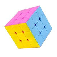 Wholesale YJ GuanLong Magic Cube Professional x3x3 Cubo Magico mm Multicolor Puzzle Speed puzzle Classic Toys Learning Education