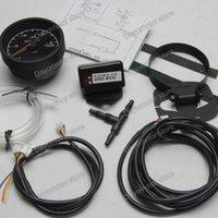 Wholesale Racing Greddy Gauge Vacuum Gauge Light Colors LCD Display With Voltage Meter Car Gauge mm Inch