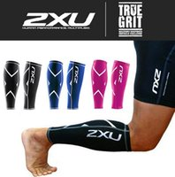 basketball training aids - 2XU Basketball Compression Training Leg Sleeves Calf Guard True Graduated Compression Boosts Circulation Aids Faster Recovery color HHA976