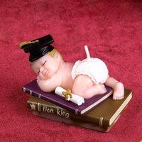 Wholesale graduation baby silicone mold for handmade soap and candle DIY