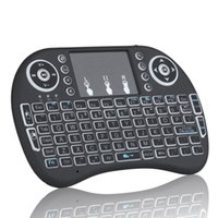 backlit keyboards - Rii mini i8 Keyboard G Wireless Keyboard with Touchpad mouse Backlit Backlight for HTPC Laptop Tablet S905X S912 Mini PC