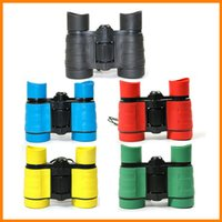 Wholesale 4X30 Binoculars Children s Educational Science Toys Plastic Color Optional