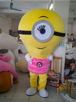 acrylic globe light - 2106 new EMS Alive pink Lamp Bulb Globe Electric Light Mascot Costume Fancy Dress With Gray Necklace Cylinder Body Thin Legs