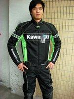 Wholesale kawasaki breathable Running jackets motorcycle jackets race jackets riding off road jackets motorcycle clothing k