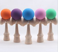 Wholesale Fashion Funny Japanese Traditional Wood Game Toy Kendama Ball Education Toy Gift New by dhl