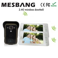 Wholesale 2 G Wireless Video Door Phone Intercom Door Camera Wireless Video doorbell With inch monitor