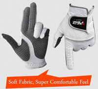 Wholesale new Leather golf glove the man left and right soft breathable pure sheepskin golf accessories golf supplies