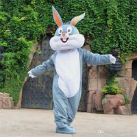 Wholesale Hot Bugs Bunny Cartoon Mascot Costume Cartoon Doll Suit Adult Size Fancy Dress Party Carnival costume