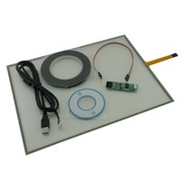 Wholesale 15 quot USB Touch Screen Kit Set For DIY Smart Panel Resistive Monitor FOR Dell CD driver connector extension cable KYJ13