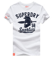 beach clothes men - 2016 Hot new SUPERDRY men s cotton Beach T shirts Fashion crew Neck Summer short sleeved T shirts Men Tees polos clothing